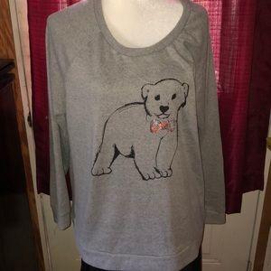 Baby Bear Faded Glory Sweat Shirt 16-18